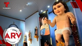 México cuenta con el niño Dios más grande del mundo   Al Rojo Vivo   Telemundo