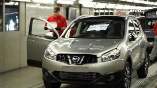 Nissan Qashqai Assembly Line