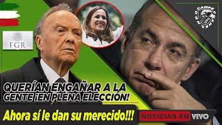 ¡NOTICIÓN DE SÁBADO! MARGARITA ZAVALA Y CALDERÓN LLAMAN LA ATENCIÓN DE FGR POR DESCARADO FRAUDE