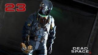 Прохождение Dead Space 3 - Часть 23 — Босс: Снежная тварь   Скалы Волантис