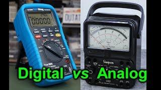 EEVblog #1067 - Analog vs Digital Multimeters!