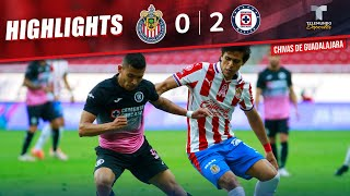 Highlights & Goals | Chivas vs. Cruz Azul 0-2 | Telemundo Deportes