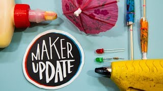 Maker Update: Patriotic Strandbeest