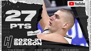 Nikola Jokic 27 Pts 12 Reb Full Highlights vs Thunder | January 19, 2021 | 2020-21 NBA Season