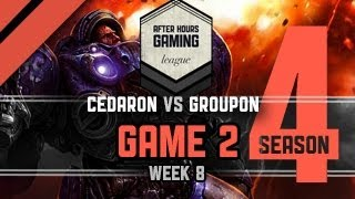 AHGL Week 8 - Cedaron vs Groupon - G2