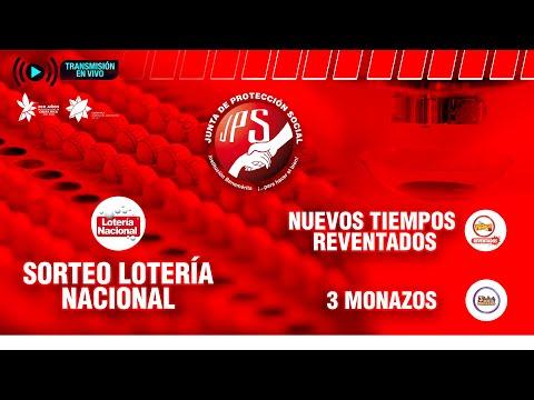Sorteo Lotería Nacional N°4665, Nuevos Tiempos Reventados N°18856 y 3Monazos N°1282  3-10-21 JPS