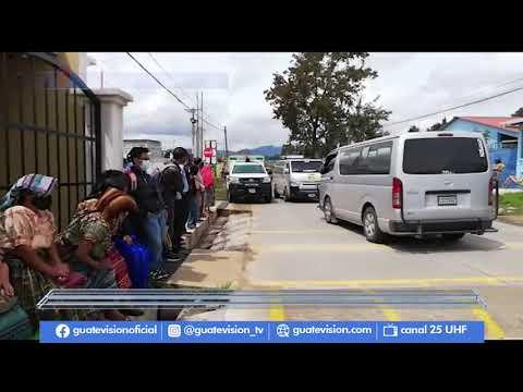 Bloqueo vial termina en enfrentamiento físico en Quiché