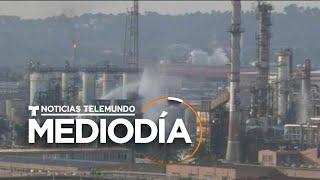 Explosión de planta provoca muerte de hombre a milla y media de distancia   Noticias Telemundo