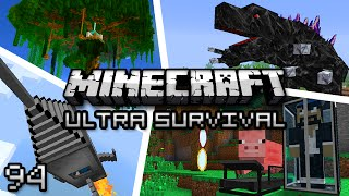 Minecraft: Ultra Modded Survival Ep. 94 - ENDER CASTLE!