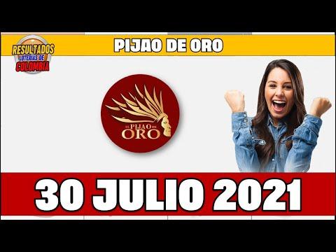 Resultados del Chance PIJAO DE ORO del Viernes 30 de julio de 2021 | Chance