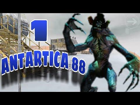 O INICIO DE GAMEPLAY - ANTÁRTICA 88 !! JOGO DE TERROR PARA ANDROID/IOS