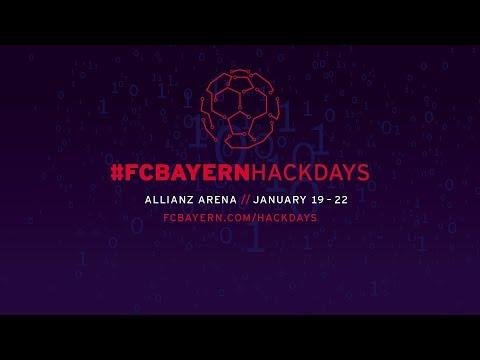 #FCBayernHackDays | January 19 to 22 | Trailer