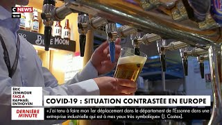 Covid-19 : situation contrastée en Europe