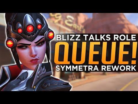 Overwatch: Blizzard Talks Role Queue & Symmetra Rework!