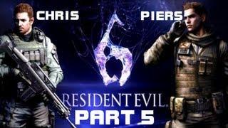 Resident Evil 6: Chris Redfield & Piers Nivans - Глава 5: Последнее Задание