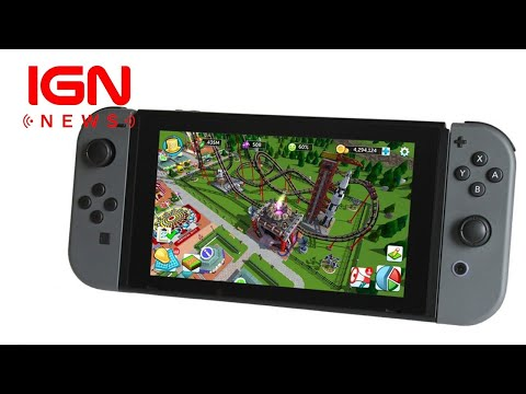 RollerCoaster Tycoon Seeks Crowdfunding for Switch Version - IGN News