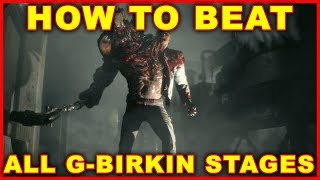 Resident Evil 2: How to Beat G-Birkin (All Boss Fights) 2019 Remake