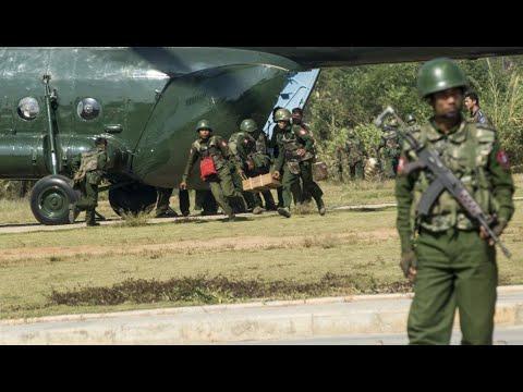 ทหารพม่ากว่า100นายบุกค่ายPDFกล