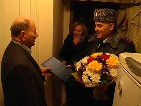Начальник УМВД России по Томской области поздравил ветеранов Великой Отечественной войны