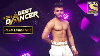 Paramdeep Singh Shows The Best Of Contemporary | India's Best Dancer - SETINDIA
