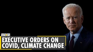 Biden halts Trump border wall construction, rejoin Paris climate accord in first-day order