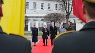 Prezidentas susitinka su Ukrainos Prezidentu Volodymyru Zelenskiu