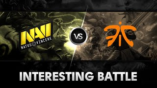 Interesting battle by Na'Vi vs Fnatic @Starseries X Europe