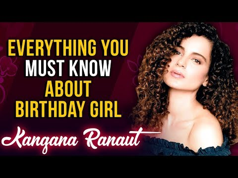 connectYoutube - 15 Lesser Known Facts About Kangana Ranaut | Happy Birthday Kangana | Birthday Special