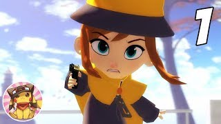 A HAT IN TIME Gameplay Walkthrough - Part 1 (Mafia Town) [1080p] No commentary