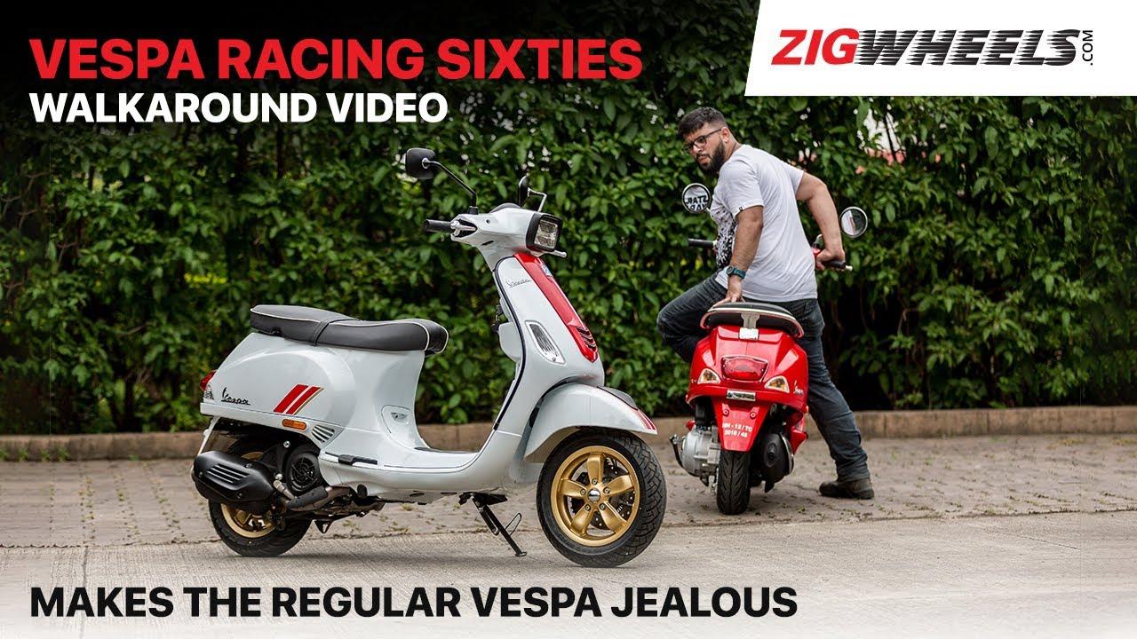 Vespa Racing Sixties Walkaround | Makes Your Regular Vespa Jealous