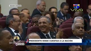 Rendición de Cuentas del presidente Danilo Medina 2020