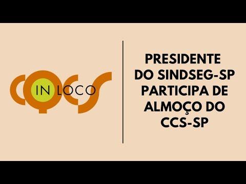 Imagem post: Presidente do SindSeg-SP participa de almoço do CCS-SP