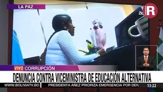 Viceministra de Educación envuelta en escándalo por cobros de dinero por venta de cargos.