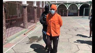 Cevichero fue conducido con uniforme y todo a celdas