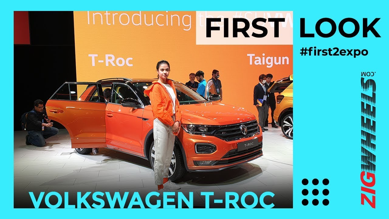 Volkswagen T-Roc SUV First Look Review Auto Expo 2020