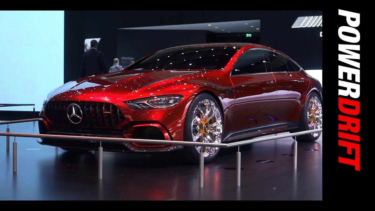 Mercedes at Geneva Motor Show : PowerDrift