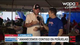 Alcalde de Peñuelas reconoce que prácticamente volvieron