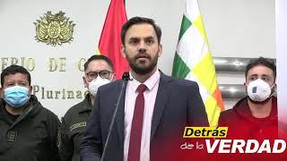 Ministro Gobierno advierte a Creemos, CC y MAS: