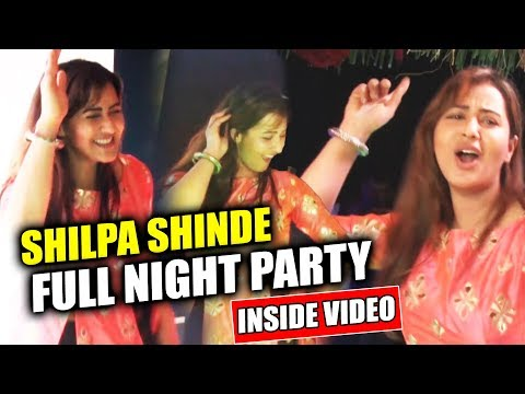 connectYoutube - Shilpa Shinde FULL NIGHT Dance Party Inside Video | Shilpa Shinde Bigg Boss 11 WINNER