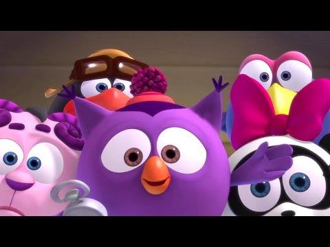 Кадр из мультфильма «Смешарики. Новые приключения. Нюша и Медведь»