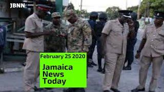 Jamaica News Today February 25 2020/JBNN