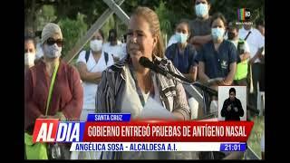 Más pruebas antígeno nasal para Santa Cruz