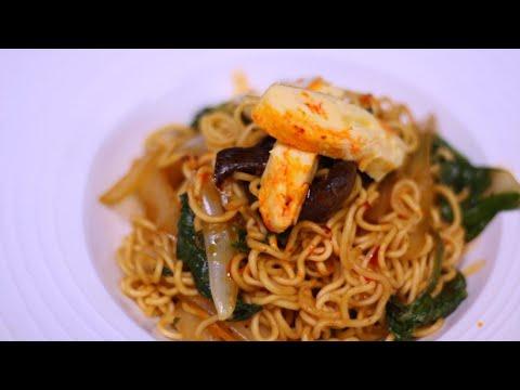 Receta Ají: Chow Mein   Pollo a la miel con limón
