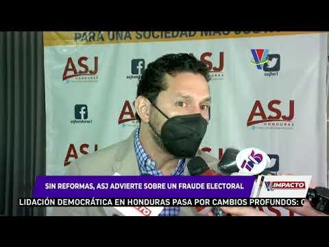 Si el CNE no hace verdaderas reformas a ley electoral, los hondureños estarían frente a un fraude
