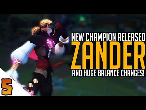 connectYoutube - Zander Released, Poloma NERFED and Alysia BUFFED!