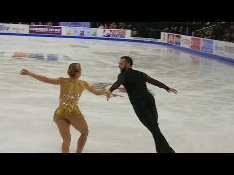 Ashley Cain & Timothy LeDuc - 2018 U.S. Nationals, Pairs Free Skate