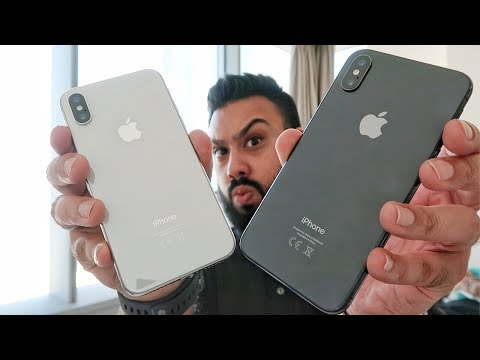 iPhone X - Space Gray vs Silver ???