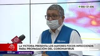 Primera Edición: La Victoria presentó los mayores focos infecciosos para propagación del coronavirus