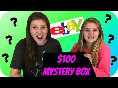 connectYoutube - $100 MYSTERY BOX    SURPRISE BOX    EBAY MYSTERY BOX    Taylor and Vanessa