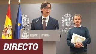 Directo | Comparecencia de Fernando Simón y Salvador Illa sobre el Covid-19